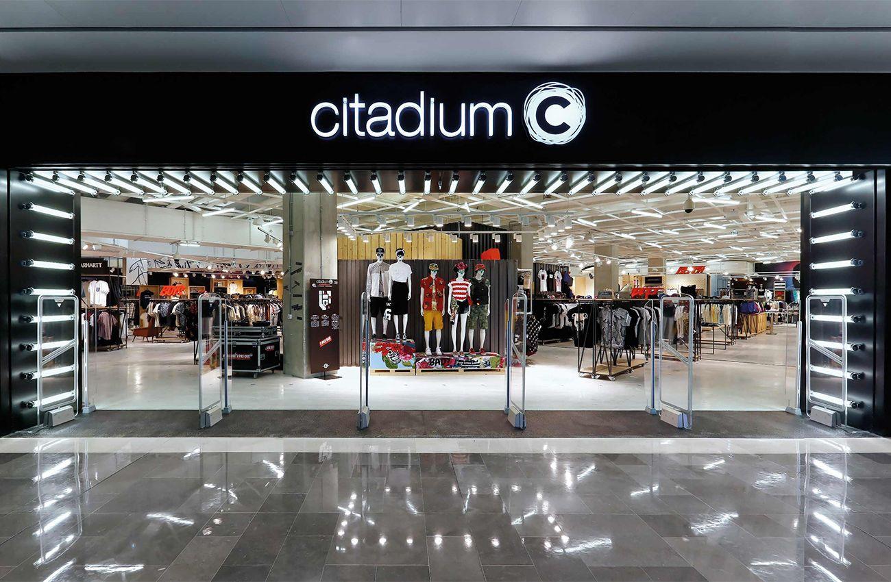 Réalisation éclairage SFEL magasin Citadium Marseille