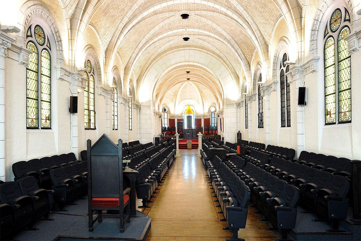Réalisation éclairage SIDE LIGHTING église
