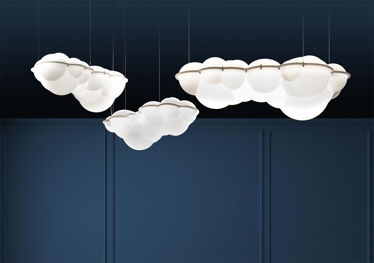 Luminaire nuage NEMO IDEE LIGHT