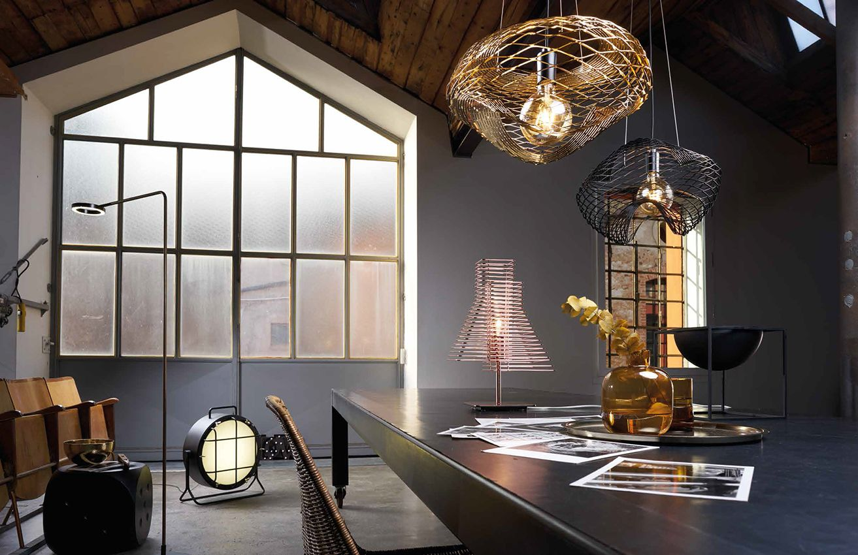 ZAVA luminaire design séjour