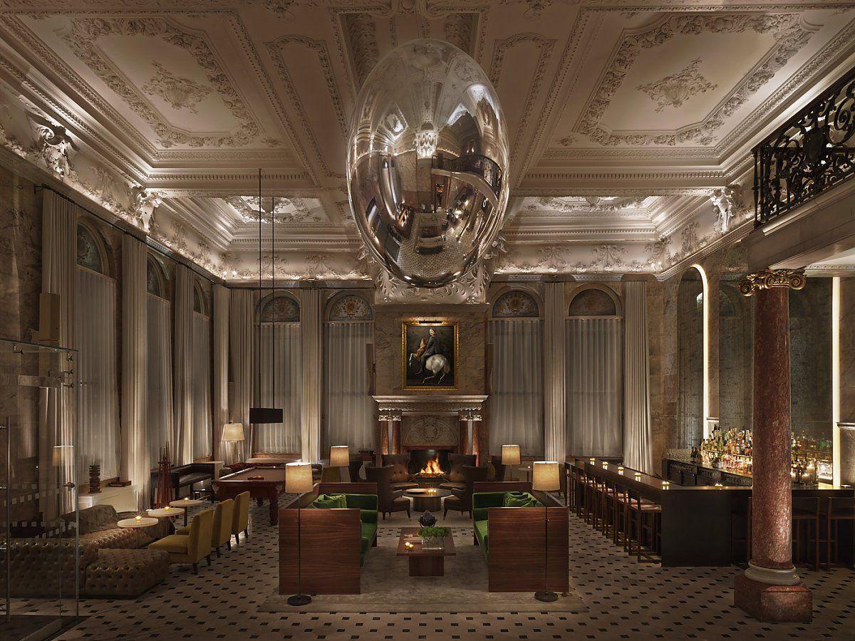 Eclairage Ingo Maurer London Edition Hotel