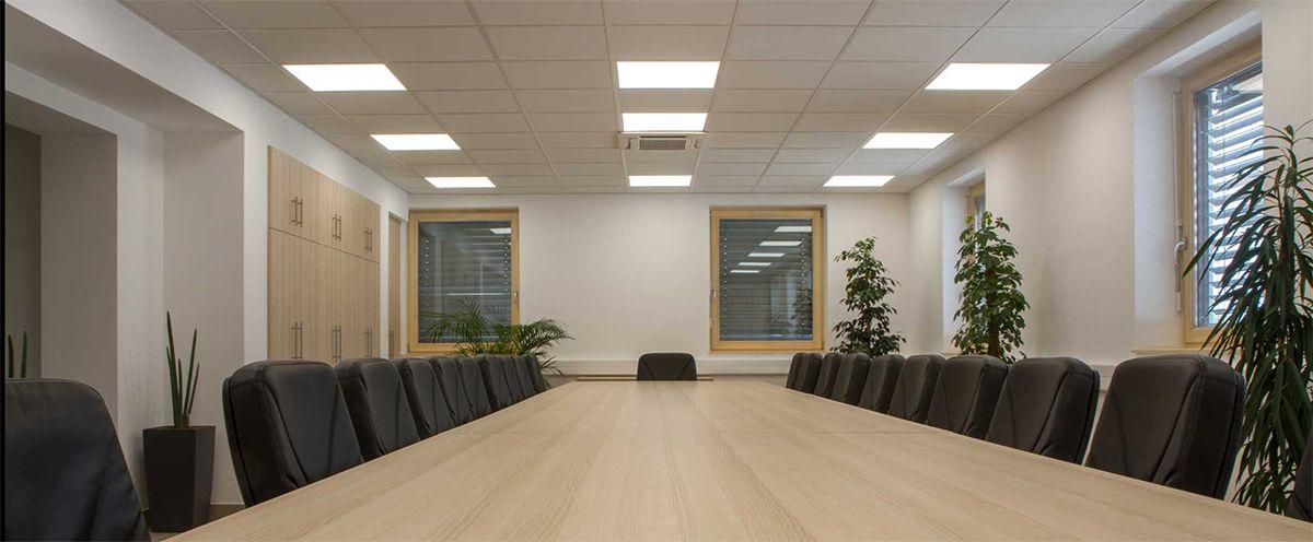 Eclairage sylvania salle de réunion